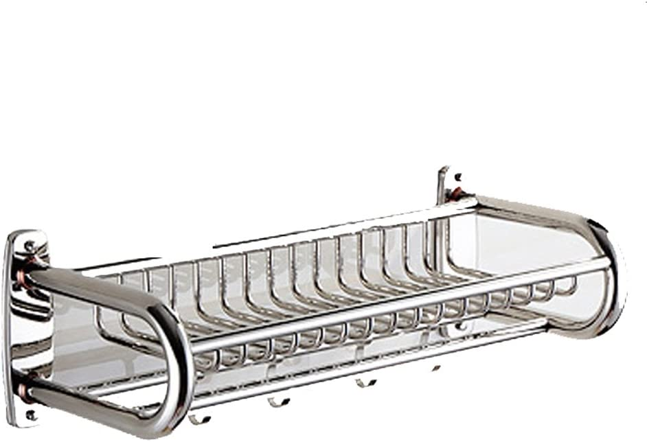 U-Shaped Stainless Steel Bathroom Shelf Ranking TOP13 Max 63% OFF Net Wall- Basket Silver