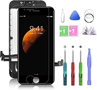 Compatible with iPhone 8 Plus Screen Replacement Black 5.5 Inch LCD Display with 3D Touch Screen Digitizer Frame Display A...