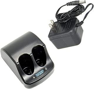 HQRP Dual Battery Charger compatible with Black & Decker 3.6V Versapak VP100 VP110 22-4040 22-4035 VP130 VP100C VP105C VP110C 152370-03 Power Tools
