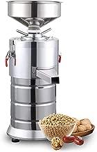 110V Electric Peanut Butter Maker Machine,Commercial Electric Grain Grinder Sesame Sauce and Peanut Sauce Grinder Commercial Peanut butter maker Sesame Butter Milling machine 15kg/h 1100W