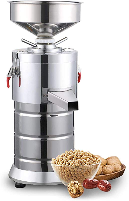 110V Commercial Electric Peanut Butter Maker Machine Sesame Paste Peanut Butter Milling Making Miniature Household Automatic Grinding Machine
