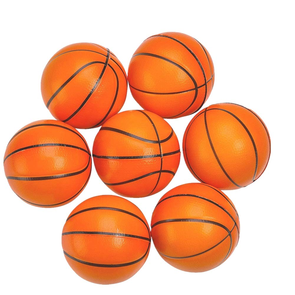 SEALEN Mini Bolas de Estrés de Baloncesto, Pelotas de Baloncesto ...