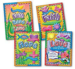 Faith, Hope, and Love Bulletin Board Set
