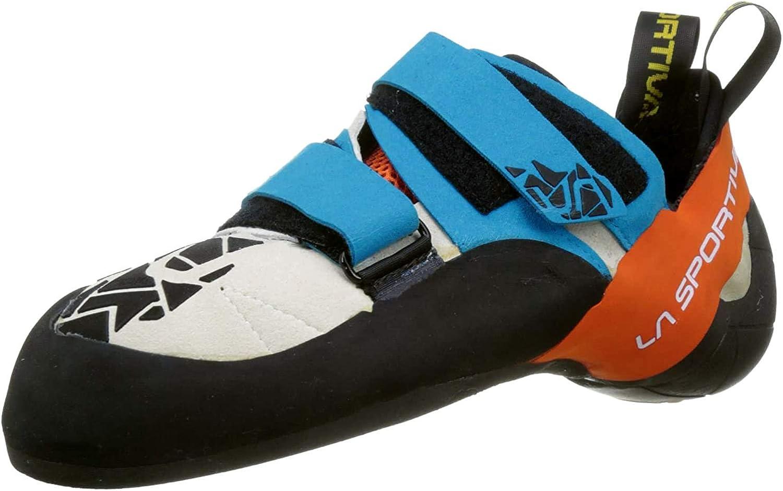 La Sportiva Otaki Blue/Flame, Zapatillas de Escalada Unisex ...