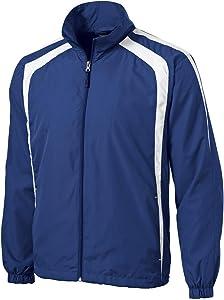 Sport-Tek Men's Big and Tall Colorblock Raglan Jacket