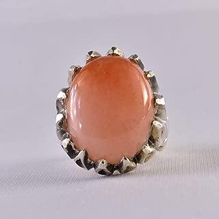 Dur e Najaf Ring Silver   خاتم در النجف الاصلي   AlAliGems   Red Dur Hussaini Stone Ring Size 10