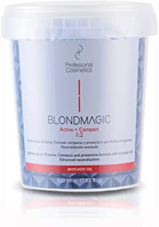 comprar comparacion Profesional Cosmetics Blondmagic Compact Decolorante para el Pelo Dust Free - 500 gr.