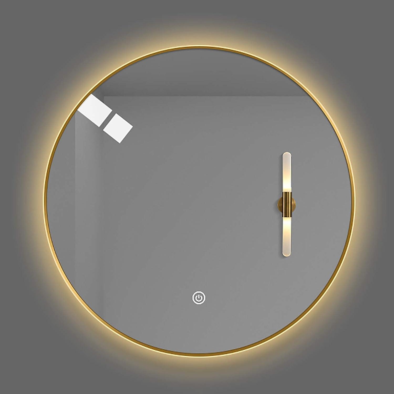 GETZ New arrival Illuminated Bathroom Sale price Mirror Round Anti-Fog Vanity B