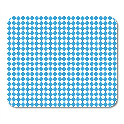 AOHOT Mauspads Oktoberfest Blue Abstract Geometric Pattern October Festival Color Germany World Biggest Wine Mouse pad Mats 9.5