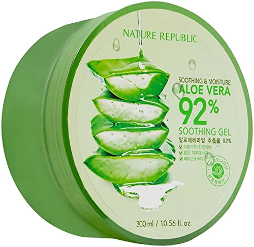 Nature Republic Soothing & Moisture Aloe Vera 92% Gel Mist, 150 Gram GEL