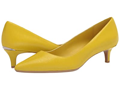 Calvin Klein Gabrianna Pump (Process Yellow) Women