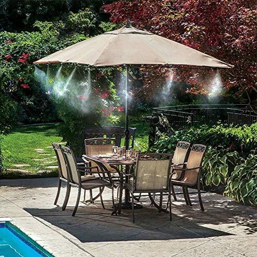 Victoy Water Fun - Aspersor para cama elástica de verano, spray de grado al aire libre, tubo de enfriamiento de PE para niños y niñas