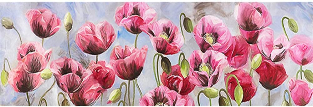 5D 2021 spring and summer new DIY Diamond Painting Kits Poppy Flower Emb Year-end gift Adults for