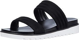 Aerosoles Women's KINNELON Sandal, BLACK FABRIC, 7