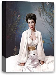 Funny Ugly Christmas Sweater Elizabeth Taylor Canvas Decor American Star Artwork for Home Decor Taylor Colorful Wall Art Elizabeth Taylor Canvas Print 8