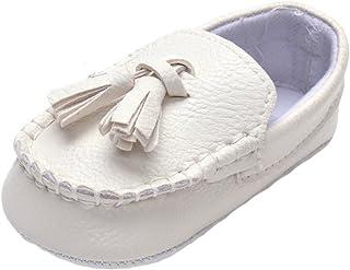 Bebé Niñas Niños Blanco Bautizo Bautismo Ablución Boda Fiesta Zapatos