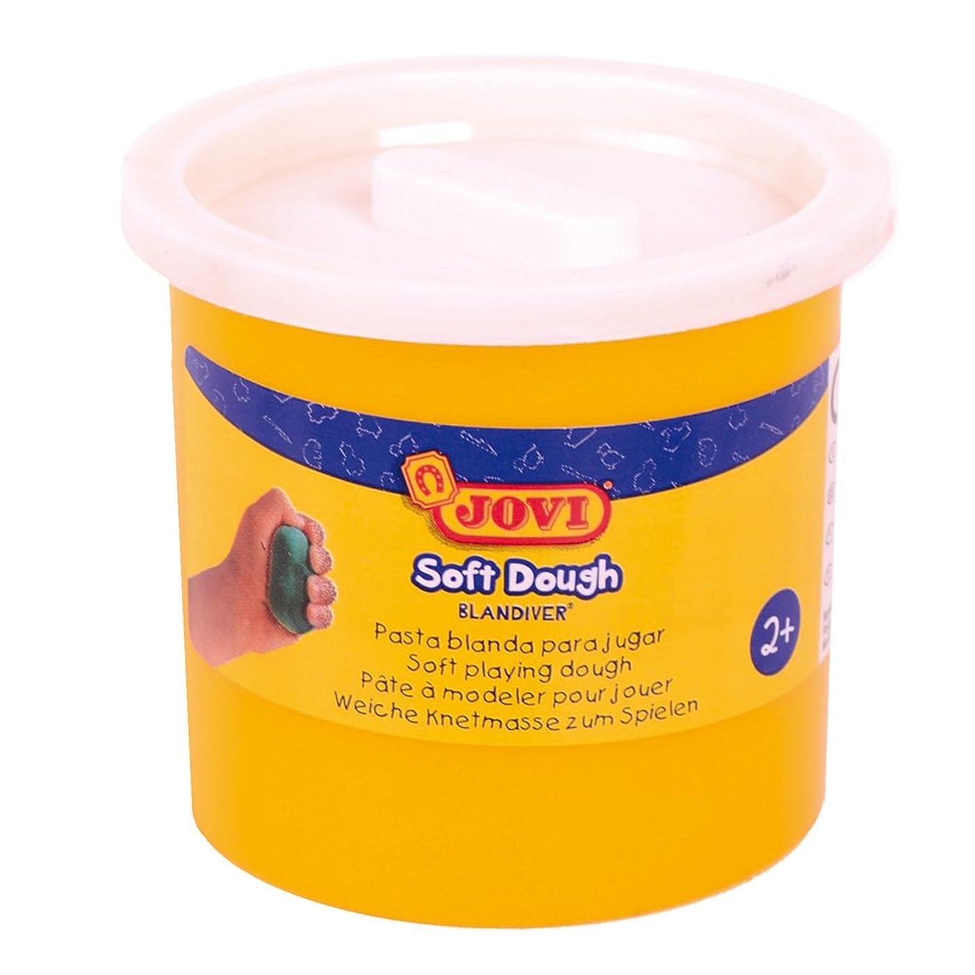Jovi?–?Soft Dough blandiver, Case of 5?Jars, 110?g, White (45001)