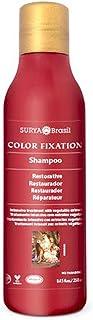 Surya Henna, Restorative Shampoo, Color Fixation, 8.45 fl oz (250 ml) - Pack of 2
