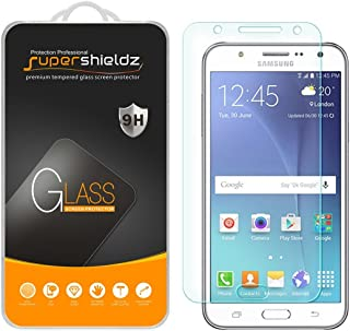 Supershieldz for Samsung Galaxy J7 (T-Mobile, Boost Mobile, Virgin Mobile) Tempered Glass Screen Protector, Anti Scratch, Bubble Free