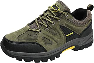 Men Fashion Hiking Shoes Sneakers Non-slip, Male Mesh Breathable Outdoor Anti-slip Wear-resistant Hiking Sport Shoe