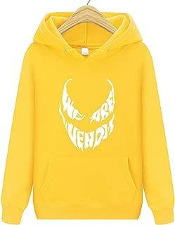 Hoodies We are Venom Letter Print Sweatshirt Men Hoodies