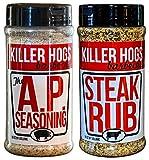 Killer Hogs BBQ Rub Bundle - AP Rub - Steak Rub