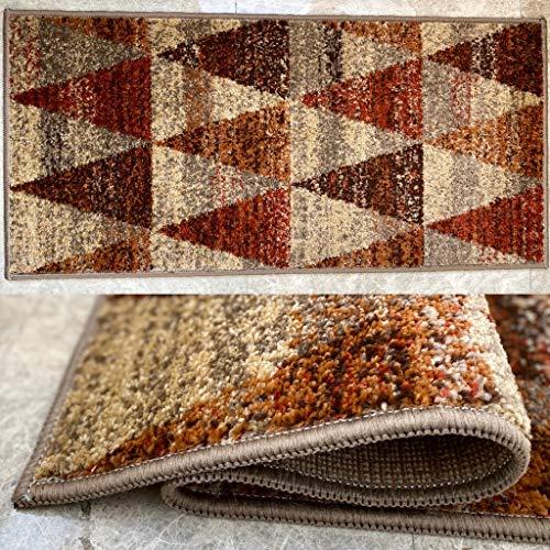 Aido , Alfombra Carmina 105x150cm Beige– Alfombra salón – alfombras – Alfombra Cocina – alfombras de habitación. (Beige, 105 x 150)