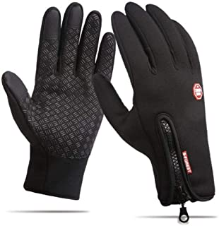 DeeFec Winter Sports Outdoor Windproof Gloves Touch Screen Gloves Running Cycling Driving Gloves Screen Touch Gloves Waterproof Warm Gloves for Women and Men
