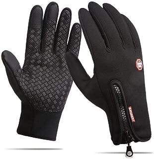 DeeFec Winter Sports Outdoor Windproof Gloves Touch Screen Gloves Running Cycling Driving Gloves Screen Touch Gloves Waterproof Warm Gloves for Women and Men