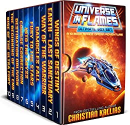 Universe in Flames – Ultimate 10 Book Box Set: An Epic Space Opera Adventure by [Christian Kallias]