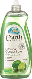 Earth Choice Green Tea & Lime Dish wash Concentrate, 900ml