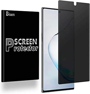 [BISEN] Fit for Samsung Galaxy Note 10+ Plus Privacy Screen Protector, Anti-Spy Screen, Anti-Scratch, Anti-Shock, Bubble F...