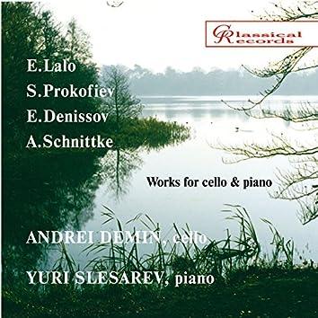 Music for cello: Lalo, Prokofiev, Denisov, Schnitke