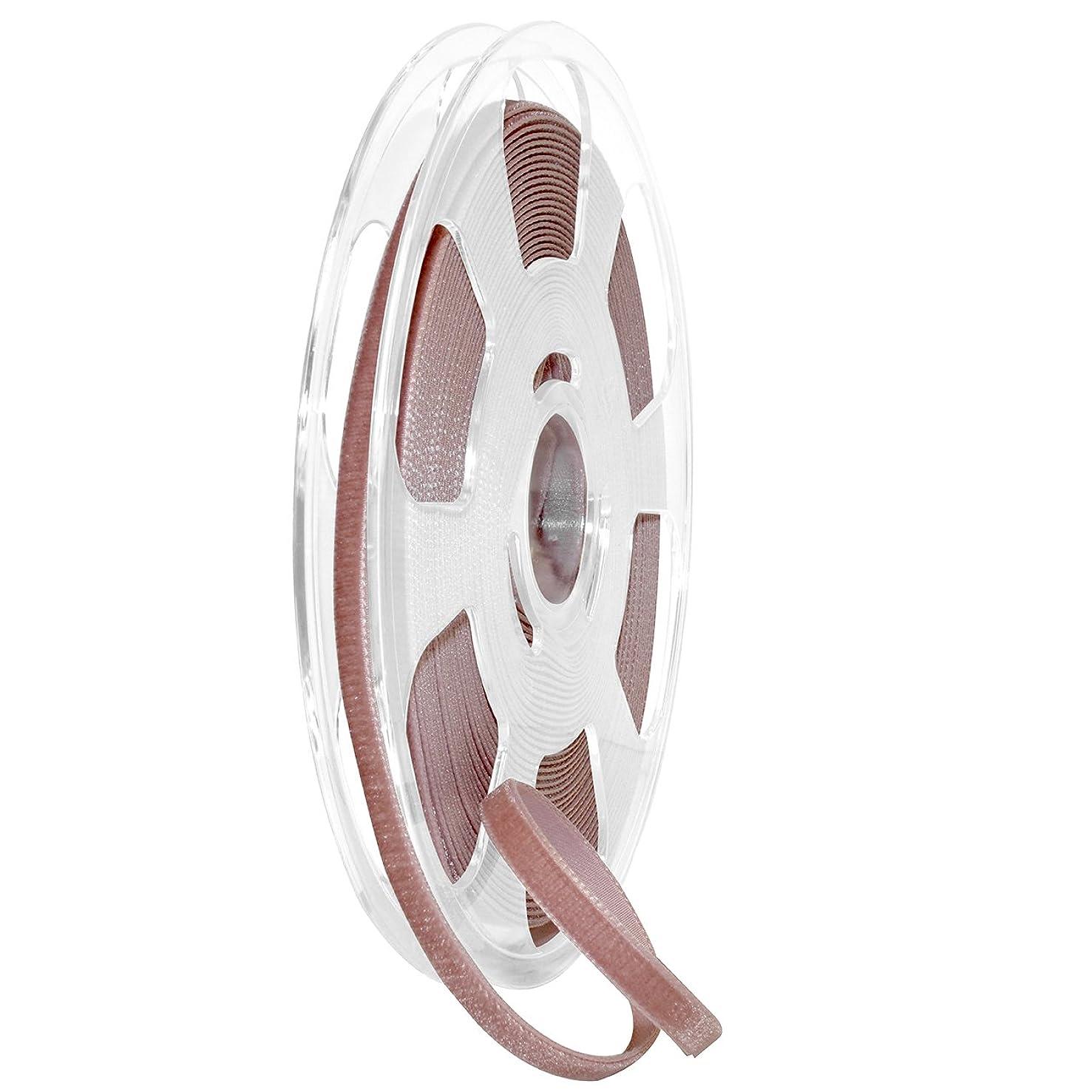 Morex Ribbon Nylvalour Velvet Ribbon, Nylon, 5/16 inch by 11 Yards, Rosy Mauve, Item 01207/10-263, 5/16