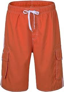 Men's Beachwear Board Shorts Quick Dry with Mesh Lining Swim Trunks