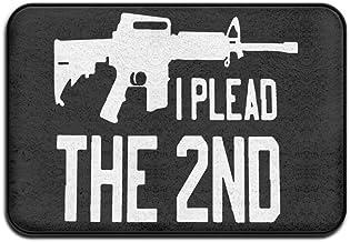 Soft Non-slip Gun Control AR-15 Rifle 2nd Bath Mat Coral Fleece Area Rug Door Mat Entrance Rug Floor Mats