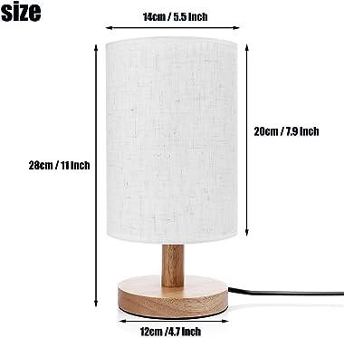 ARTSYLAMP - Wood Base Decoration Desk Table Bedside Light Lamp [ Shark ]