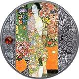 Power Coin Dancer Bailarina Gustav Klimt Moneda Plata 500 Francos Cameroon 2021