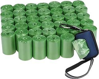 Kiddream 40 Rolls Waste Poop Bags, Dog Poop Bag with Dispenser, Green