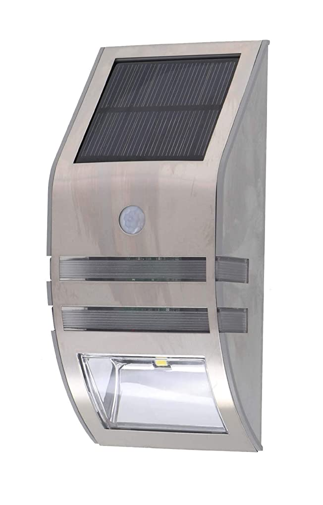 直面する熱望する動機付ける高儀 センサーライト EARTH MAN ソーラー式LEDウォールセンサーライト SLT-05ECWA