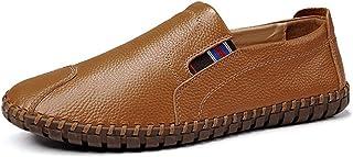 [DOUERY LTD] ローファー スリップオン ドライビングシューズ メンズ カジュアルシューズ ビジネスシューズ デッキシューズ スリッポン モカシン 靴 ローカット 紳士靴 防滑 軽量 大きいサイズ 滑りにくい