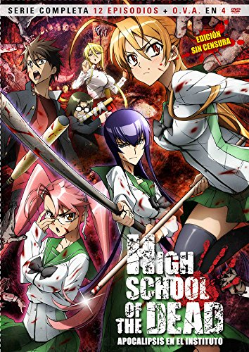 High School Of The Dead (4) [DVD]