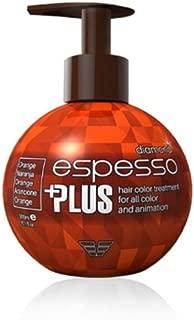 Hair Manicure Polish Color ESPESSO PLUS 300ml Diamond Powder ORANGE Coating