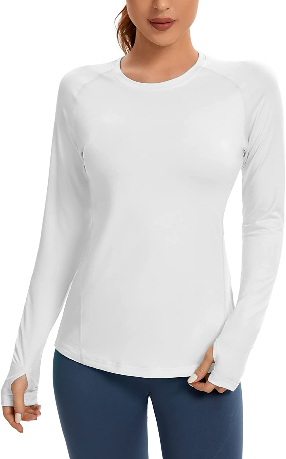 MIVEI Women's UPF 50 Long Sleeve Sun Shirt Guard Dry Popular Recommendation shop is the lowest price challenge Rash Quick