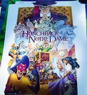Disney's Hunchback of Notre Dame Movie Poster