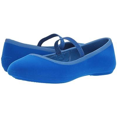 Native Kids Shoes Margot Velvet (Little Kid) (Victoria Blue) Girls Shoes
