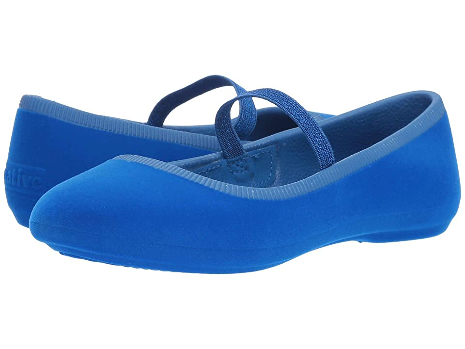 Native Kids Shoes Margot Velvet (Little Kid) (Victoria Blue) Girls Shoes
