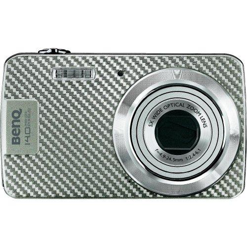 BENQ DC AE100 14,0MPix Digitalkamera Silber 5,8cm 2,3Z 230.000Pixel LCD HD 16:9 5fach Opt.Zoom 720p Projekt Retail (P)