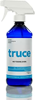 Truce All Purpose Cleaner - Cuts Grease, Anti-Septic, Kid and Pet Safe, Cruelty Free, Made in The USA - Peppermint (16 Ounce)