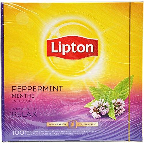 Lipton Feel Good Selection Infusion Menthe Poivrée 100 sachets